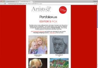 Artists & Illustrators Portfolio plus