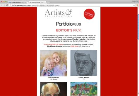 Artists & Illustrators Portfolio plus