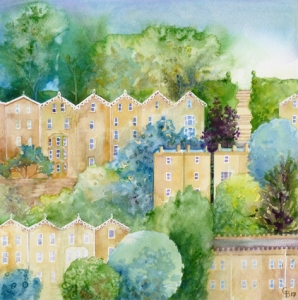 Bath Imagined - giclee print available