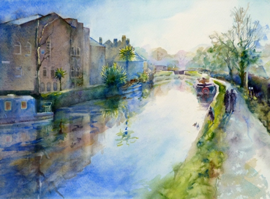 Canal at Bathwick - sold