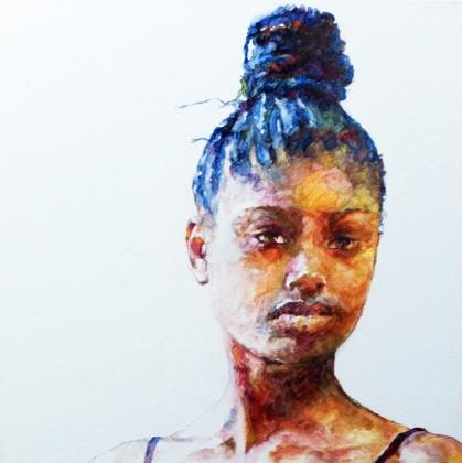 Francesca - oil on canvas, Victoria Hall