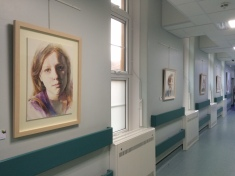 Royal United Hospital South Corridor Exhibition, Spring 2016