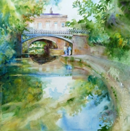 Sydney Gardens - sold watercolour