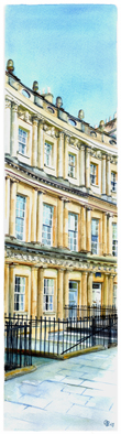 The Circus, Bath Slice - sold, available as a limited edition giclee print