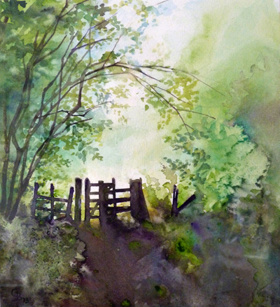 The Gateway - giclee print available