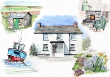 Trewetha Cottage, Cornwall - house portrait