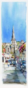 Widcombe Parade, slice - sold, available as a limited edition print