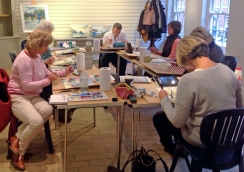 Workshops @ First View Gallery, Stourhead