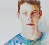watercolour 2016 56 x 51 cms