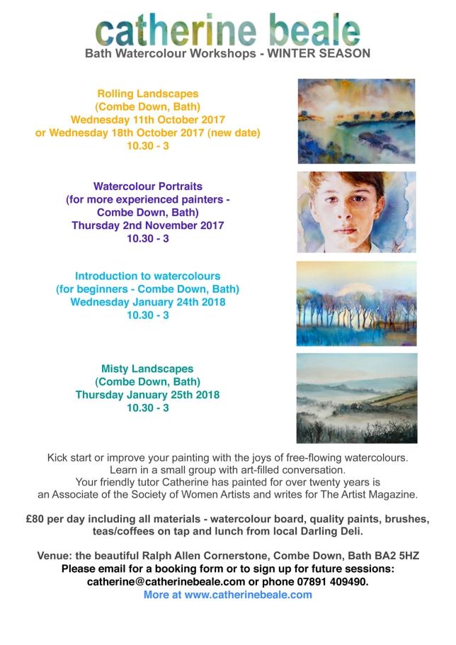 Winter 2017:18 A4 workshop flier