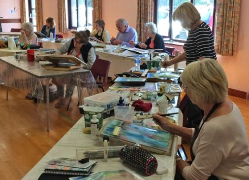 Art group workshops