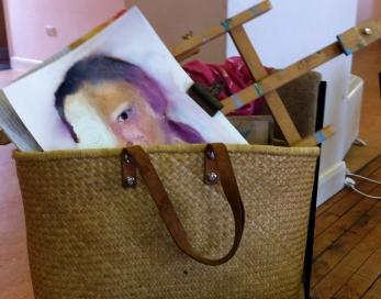 Student's materials: portrait workshop