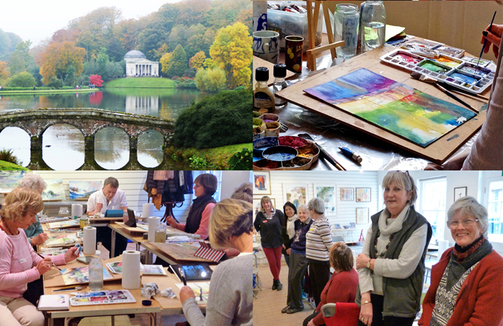 Painting Retreat, Stourhead, Wiltshire - May 2018