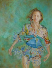 Adrift - oil on canvas (society of women artists)
