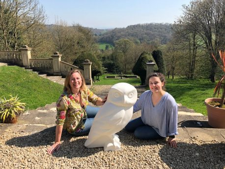 Owls of Bath sculpture project 2018