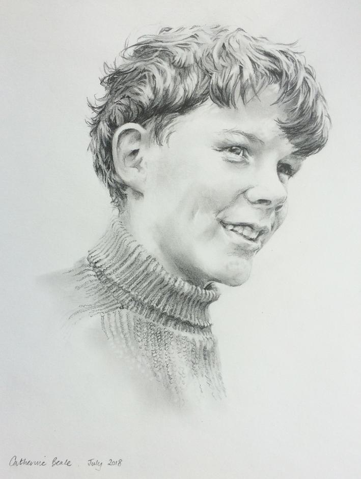 Will's Uncle Pencil Portrait